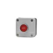 Access control/stop button