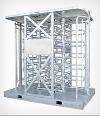 Full-height-portable-turnstile