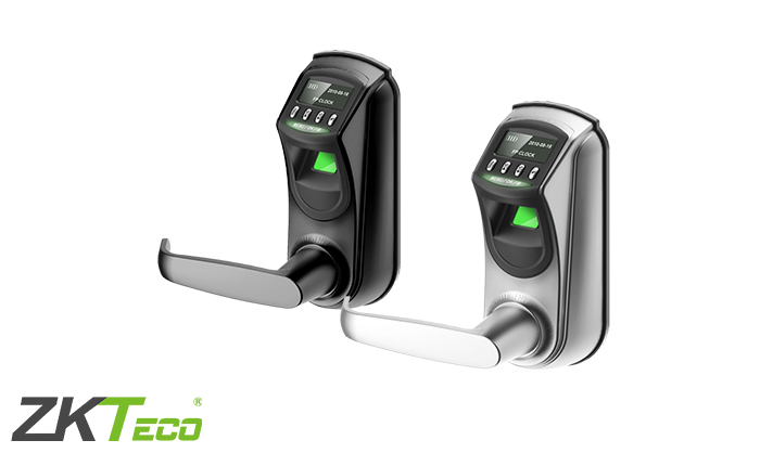 biometric scanner door handle