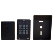 Access control keypad with housing