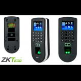 biometric scanner with keypad and LED screen