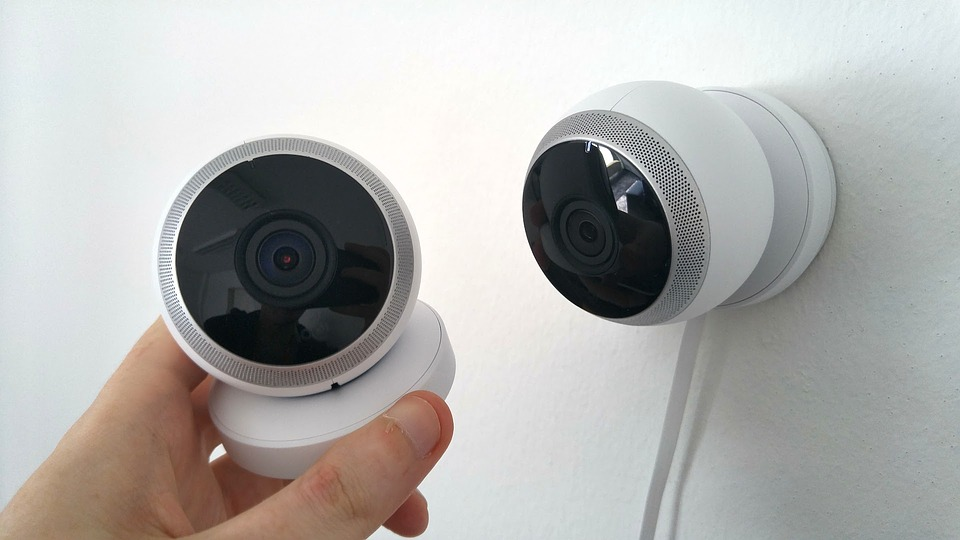 An example of a more modern CCTV camera.